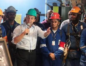 visita Sergio Cabral - Maracanã (Foto: Luiz Guilherme / Divulgação)