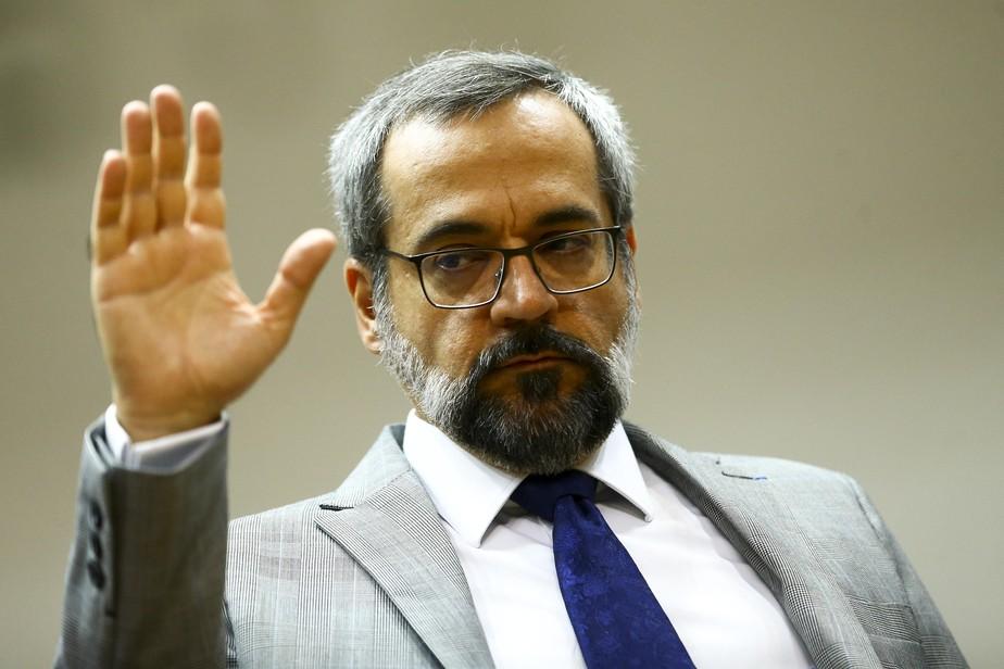 Ministro da Educação, Abraham Weintraub, confirma demissão