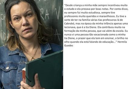 Hermila Guedes retorna no elenco principal  TV Globo