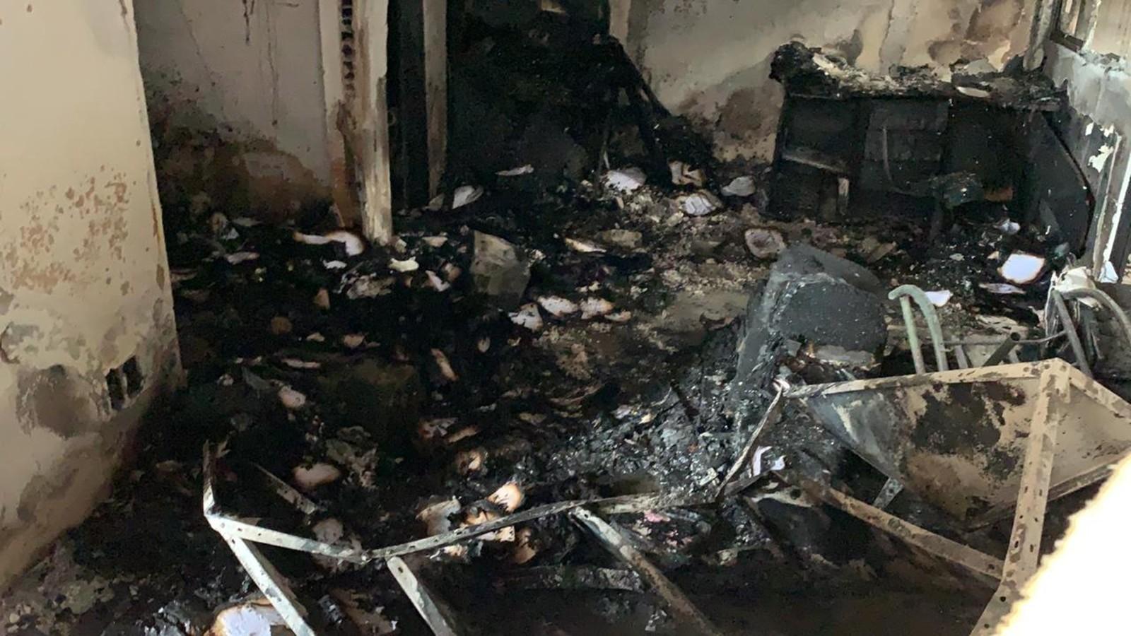 Incêndios destroem escritórios de galpões na Grande João Pessoa - Notícias - Plantão Diário