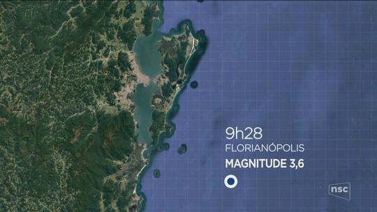 Catarinenses relatam tremor de baixa intensidade: 'mesa estremeceu um pouco'