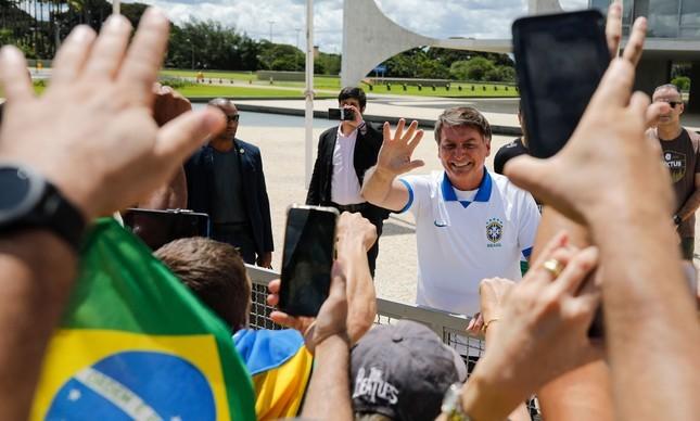 Manifestação pró-Bolsonaro marcadas para o dia 19 de julho