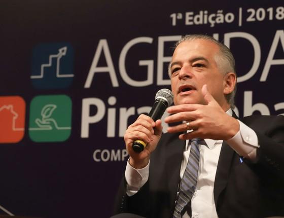 O governador de São Paulo, Marcio França (Foto: Governo de São Paulo/Divulgação)