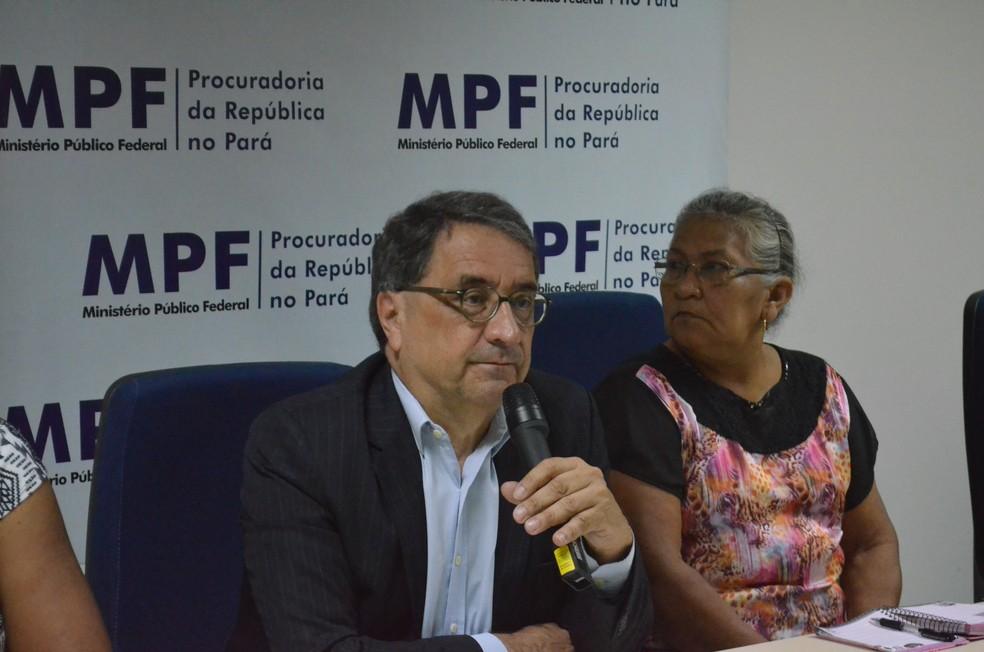 membro do Conselho Nacional dos Direitos Humanos, Paulo Maldos (Foto: Fábio Cadete/G1)