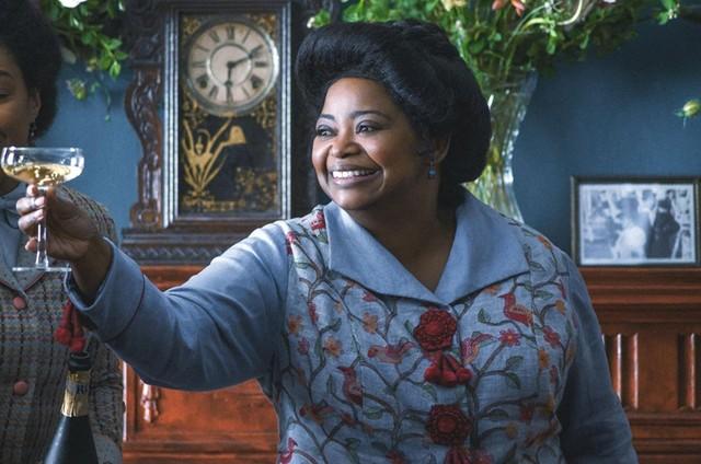 Octavia Spencer em cena de 'Self made', da Netflix (Foto: Divulgação)