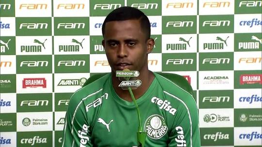 Carlos Eduardo lembra passado na roça e inspiração em Ricardo Goulart, agora colega de Palmeiras