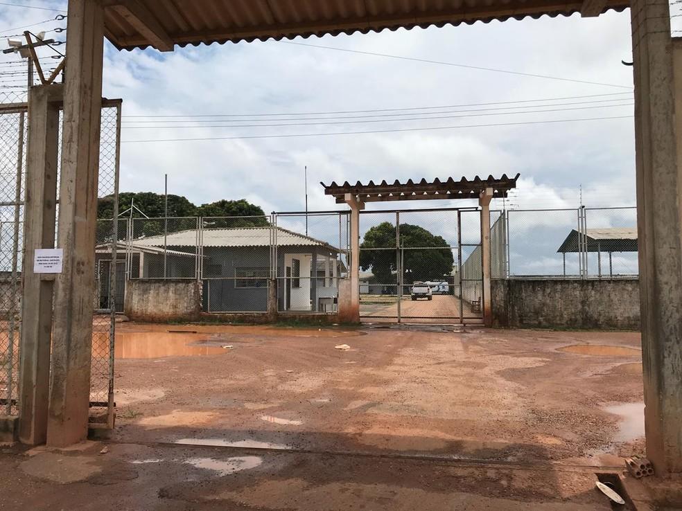 Penitenciária Agrícola de Monte Cristo — Foto: Inaê Brandão/G1 RR