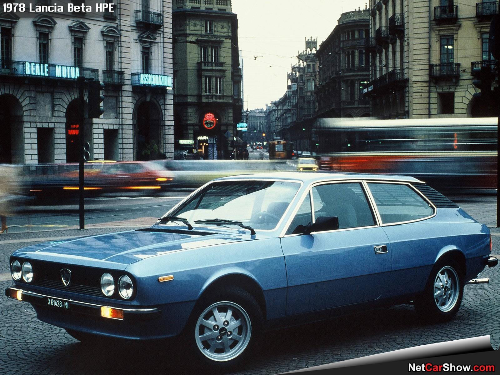Lancia Beta HPE 1978