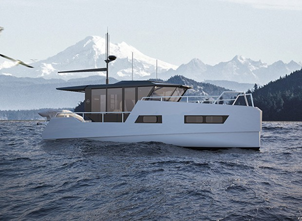 barco-elétrico (Foto: Reprodução/Vik boats)