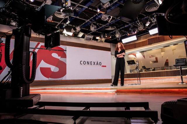 Leilane Neubarth no 'Conexão GloboNews' (Foto: João Cotta/Globo)