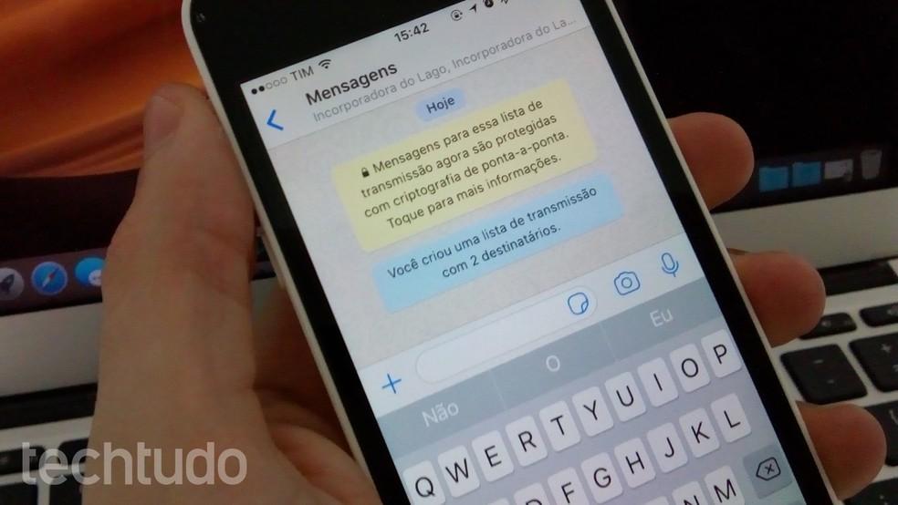Vulnerabilidade do WhatsApp pôs em xeque a segurança do mensageiro — Foto: Helito Beggiora/TechTudo