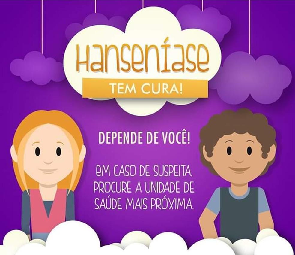 Serra Talhada promove campanha Janeiro Roxo contra a hanseníase