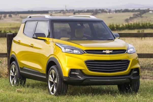 Chevrolet lança na Índia conceito de SUV compacto - AUTO ...