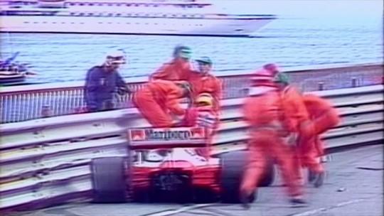 Histórias da F-1: o dia do erro banal de Senna no GP de Mônaco