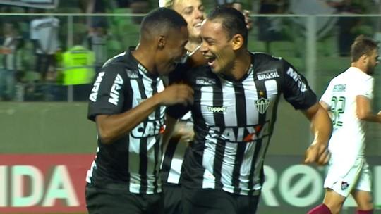 Mais assíduo, artilheiro e garçom: no Galo, Ricardo Oliveira reedita melhores números