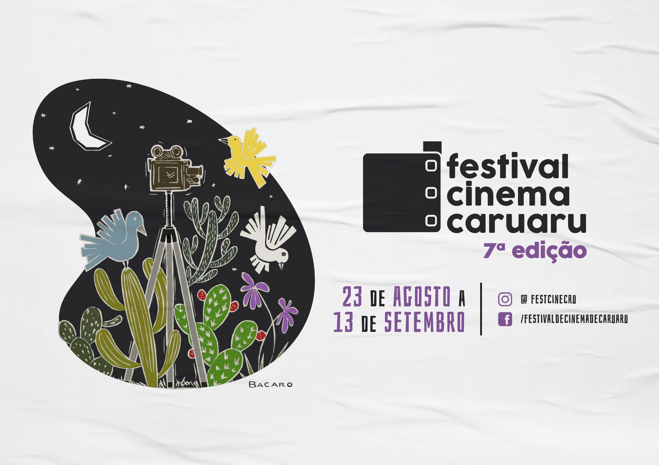 Festival de Cinema de Caruaru divulga filmes selecionados e será realizado de forma virtual