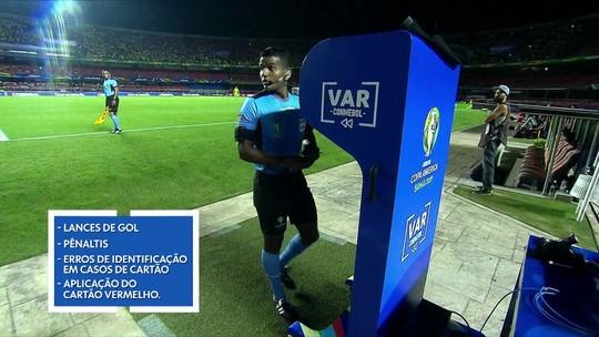 """Balanço: vendida como """"melhor da história"""", Copa América teve gramados ruins e bronca com VAR"""