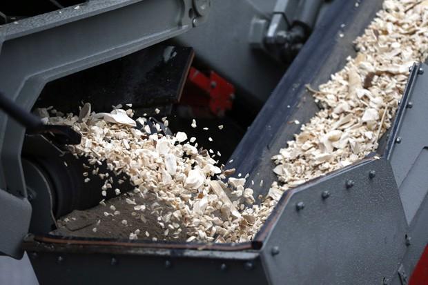Marfim é pulverizado durante ação da alfândega francesa (Fot Reuters/Charles Platiau)
