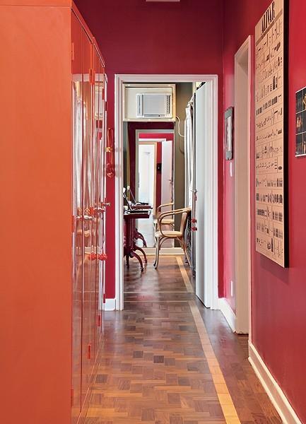 decoração-de-corredor (Foto: Evelyn Müller/Editora Globo)