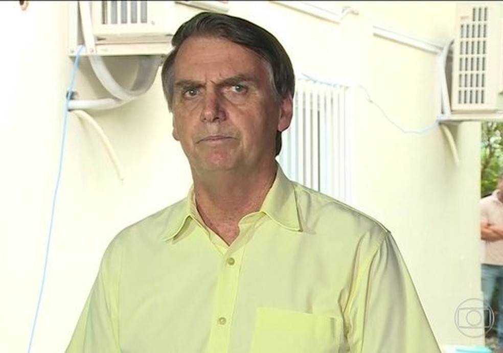 O presidente eleito Jair Bolsonaro (PSL) — Foto: Reprodução/JN