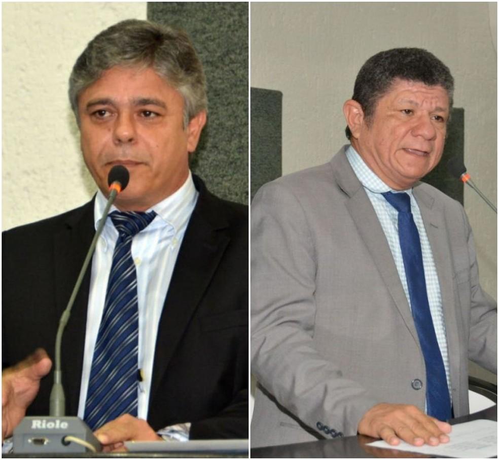 Eduardo do Dertins e Ivory de Lira pediram para deixar cargos no governo — Foto: Divulgação