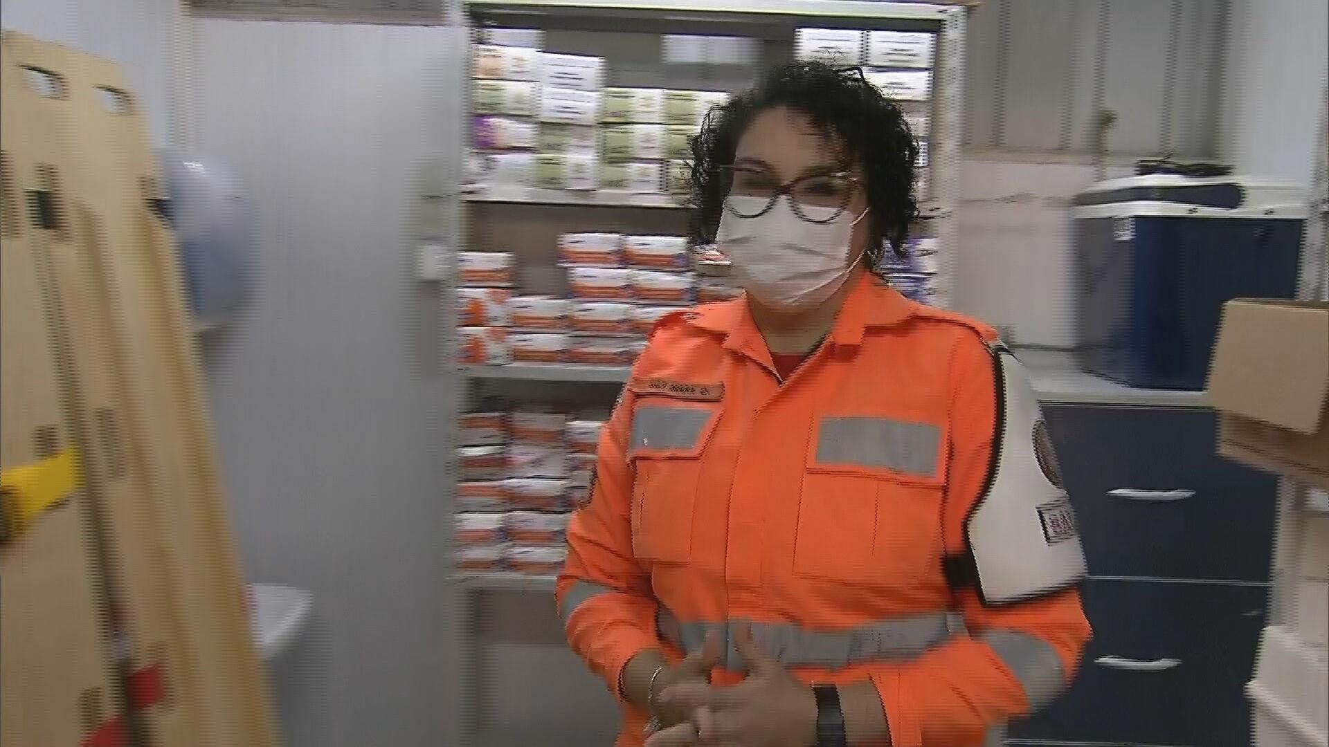 Saiba quem é a oficial dos Bombeiros que atua há mais tempo em Brumadinho