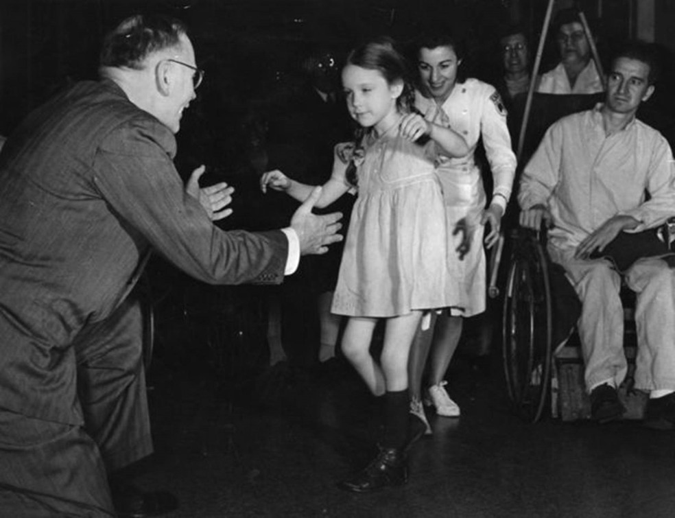 Milhares de crianças dos EUA foram vitimadas pela pólio nos séculos 19 e 20 — Foto: Getty Images via BBC