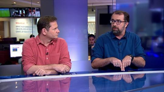 """Jornalista fala em """"grito de liberdade"""" de Barbieri: """"Vitinho entrou em campo para não jogar"""""""