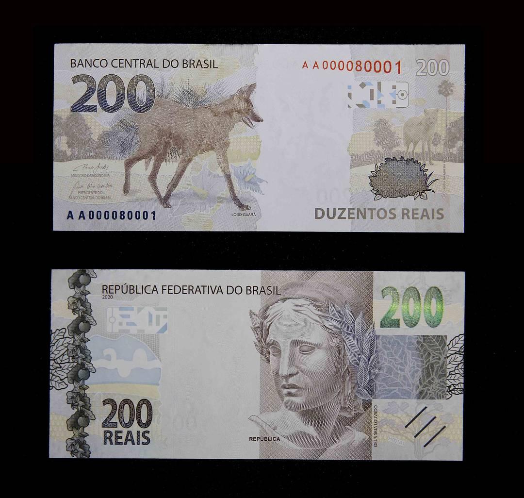 O Banco Central (BC) lançou nesta quarta-feira (02/09) a nova nota de R$ 200,00 com a imagem do lobo-guará