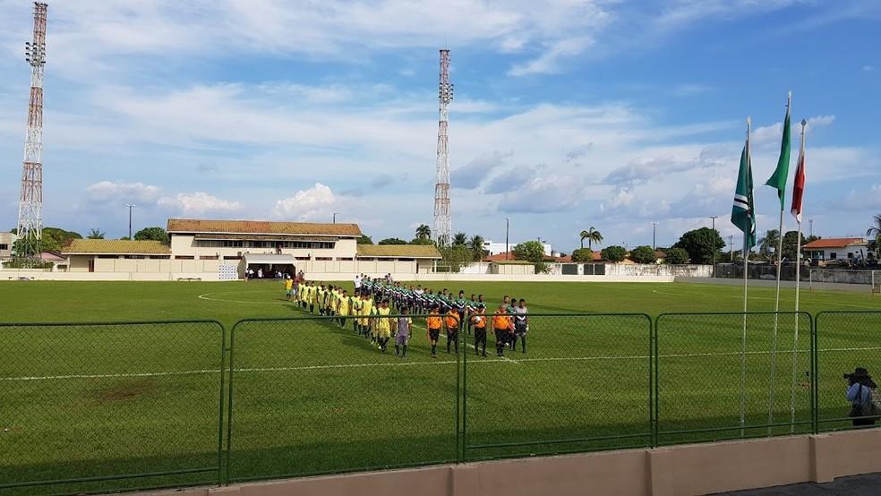 Estádio Bandeirão, em Altamira — Foto: Divulgação