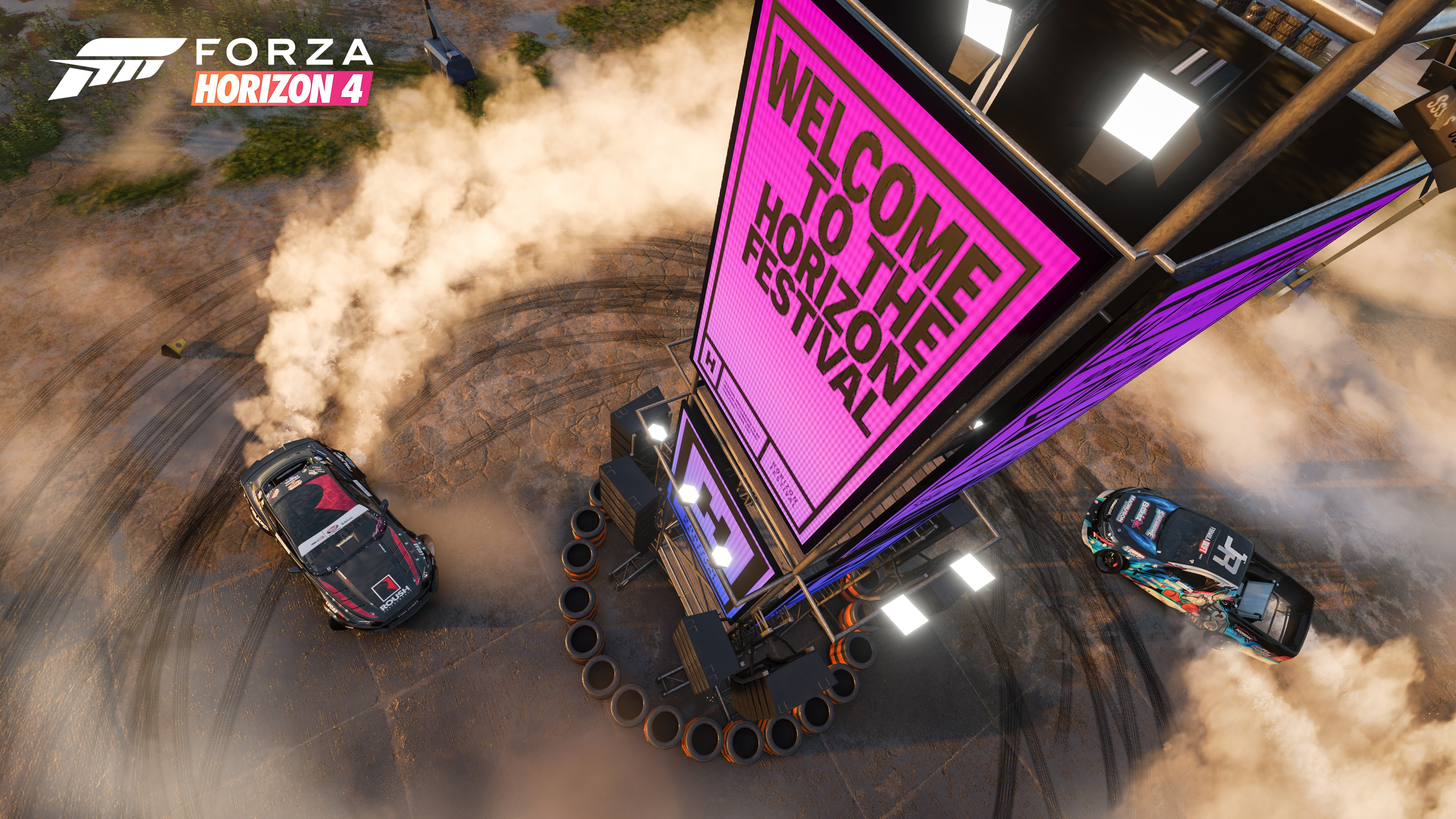 Forza Horizon 4 Welcome to the Horizon Festival (Foto: Divulgação)