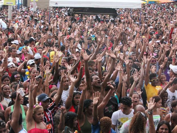 Carnaval do Lava Pratos deve reunir 150 mil pessoas (Foto: De Jesus/O Estado)