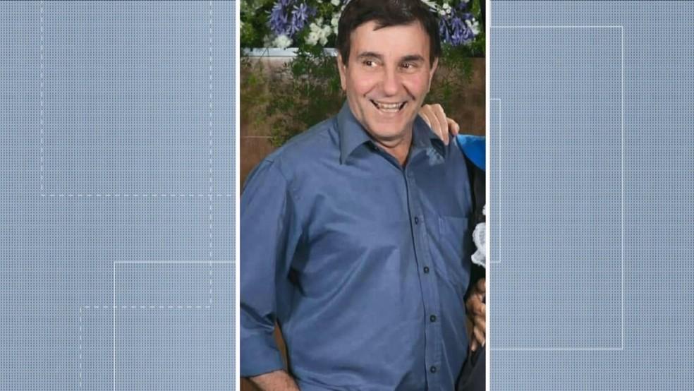Fernando foi morto a tiros quando chegava em casa — Foto: Reprodução/TV Gazeta