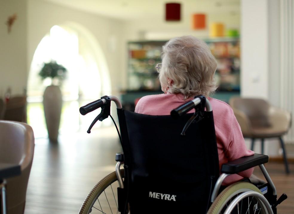 Ceará tem cinco óbitos por Covid-19 em asilos para idosos — Foto: Reuters/Thilo Schmuelgen