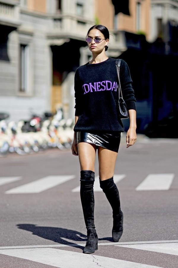 Street style (Foto: Imaxtree)