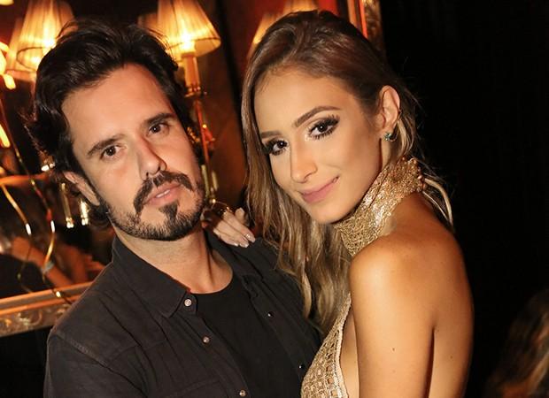 Leo Ribeiro e a namorada, Aline Marquez (Foto: Foto: Angelo Santo/Divulgação)