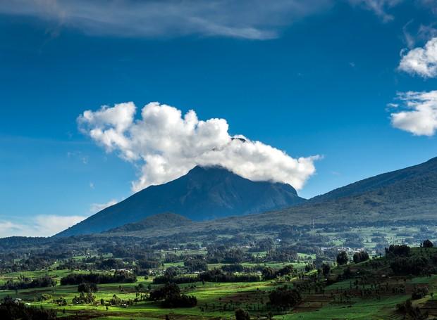 Paisagem natural de Ruanda (Foto: Divulgação)
