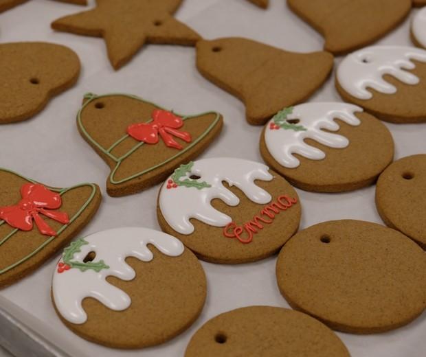 Biscoitos de gengibre natalinos do Palácio de Buckingham (Foto: Reprodução / Instagram)