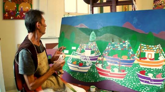 Minidocs Paratyé: Conheça o pintor e artista Julio Paraty