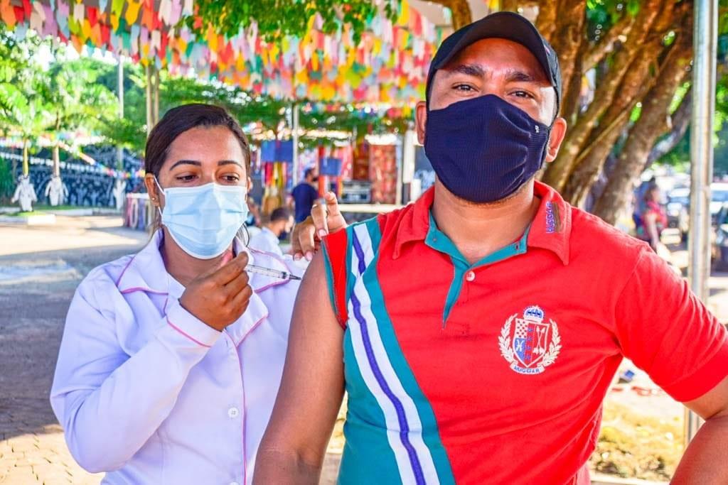 Rosário terá 'Arraial da Vacinação' contra a Covid-19 nesta sexta (25)