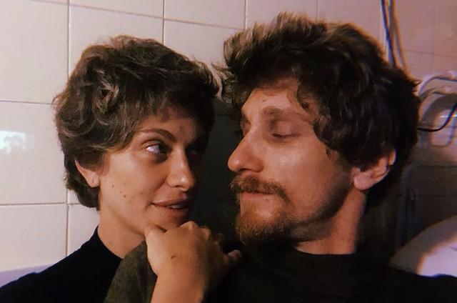 Lana Rhodes e o namorado, André Hawk (Foto: Reprodução)