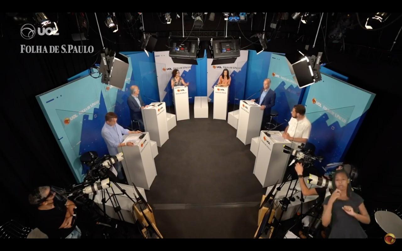 Debate à Prefeitura de São Paulo reúne os quatro primeiros colocados na pesquisa Datafolha