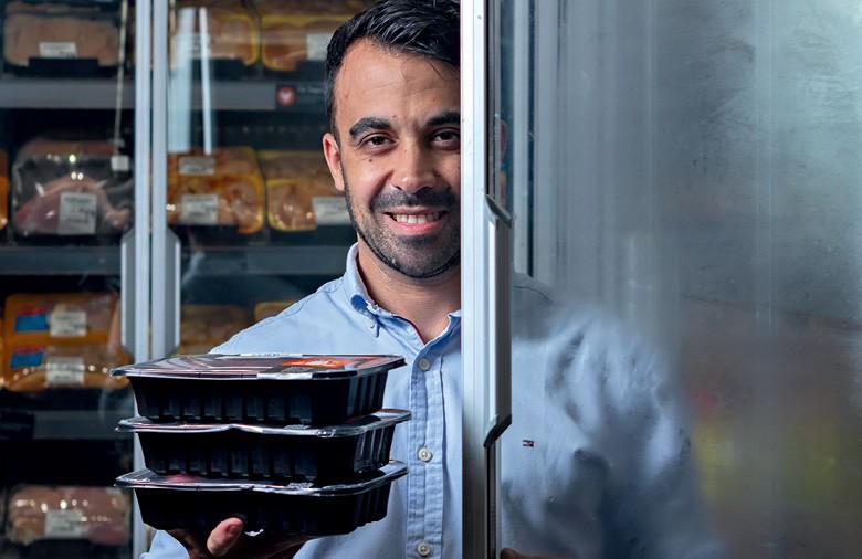 André Artin Machado, gerente de desenvolvimento de carnes e pescados  do GPA (Foto: Rogério Albuquerque/Ed. globo)