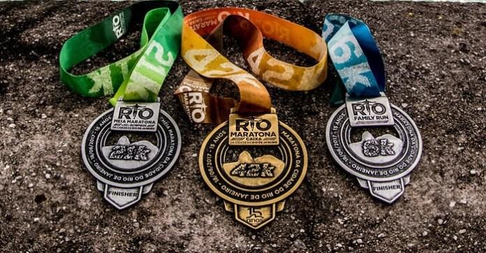 Medalhas da Maratona do Rio chegarão no Rio com escolta