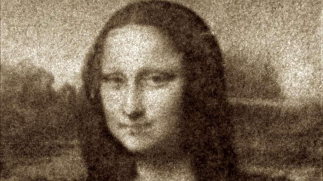 Mona Lisa 'bacteriana' ficou pronta em apenas 4 minutos (Foto: Frangipane Et al 2018)