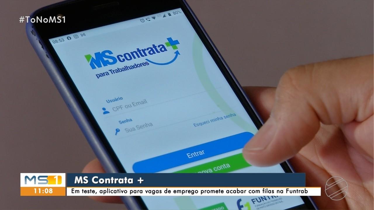 Em teste, aplicativo para vagas de emprego promete acabar com filas na Funtrab