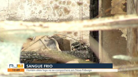 Artista plástica e amiga são trancadas em casa incendiada por ex e sofrem queimaduras graves