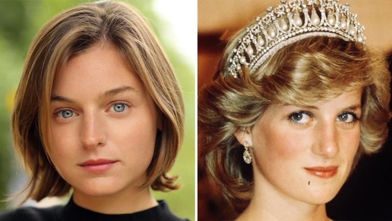 Emma Corrin fara o papel de Lady Di em 'The Crown' (Foto: Reprodução/Instagram)