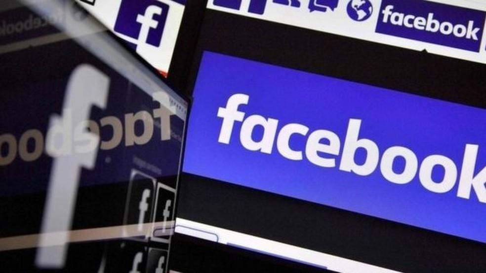 -  Logotipo do Facebook.  Foto: France Presse