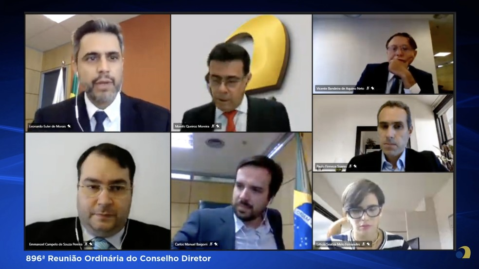 Conselho Diretor da Anatel aprovou termos do leilão de 5G — Foto: Reprodução/Anatel